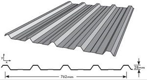 Spandek Roofing Dimensions 12 300 About Roof